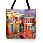 The Frenchmen Hotel New Orleans Tote Bag