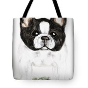 The Frenchton Tote Bag by Maria Urso