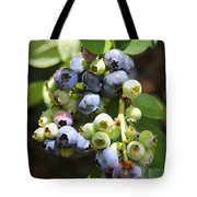 The Freshest Blueberries Tote Bag