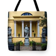 The Front Of The Telfair Museum Of Art Tote Bag