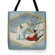 The Frost King Tote Bag