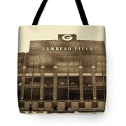 The Frozen Tundra Tote Bag by Tommy Anderson