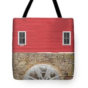The Frozen Wheel Tote Bag