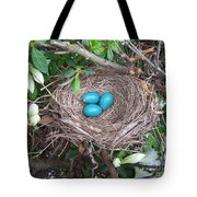 The Future's Nest Egg Tote Bag