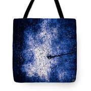 The Galaxy Blue Version Tote Bag