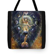 The Galaxy Creation Tote Bag