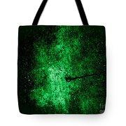 The Galaxy Green Version Tote Bag