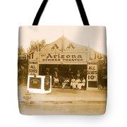 The Gamblers 1914 Lubin The Arizona Summer Theater Tent Tucson Arizona 1914-2008 Tote Bag