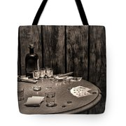 The Gambling Table Tote Bag by Olivier Le Queinec