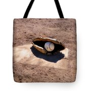 The Game Tote Bag by Bill Cannon