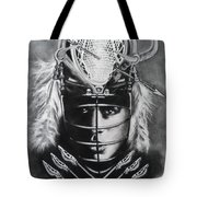 The Game Of Lacrosse  Tote Bag