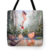 The Game Of The River Tote Bag