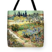 The Garden At Arles, 1888 Tote Bag