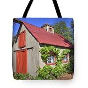 The Garden Barn Tote Bag