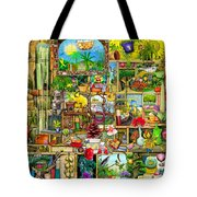 The Garden Cupboard Tote Bag