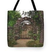 The Garden Gate Tote Bag