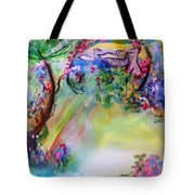 The Garden Grew More Beautiful As Did She Tote Bag