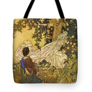 The Garden Of Paradise IIi Tote Bag