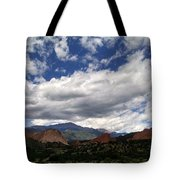 The Garden Of The Gods Tote Bag