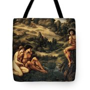 The Garden Pan Tote Bag