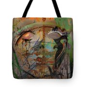 The Gardian In Roots  Tote Bag
