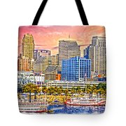The Garish City Cincinnati Tote Bag
