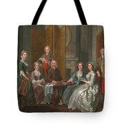 The Gascoigne Family, C.1740 Tote Bag