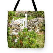 The Gate By The Sea Tote Bag