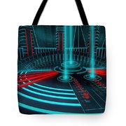 The Gate Of Power Tote Bag