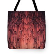The Gates Of Barad Dur Tote Bag by Curtiss Shaffer