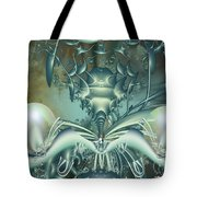 The Gateway Machine Tote Bag by Mary Almond