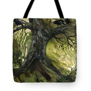 The Gathering Tree Tote Bag