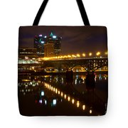 The Gay Street Bridge Tote Bag