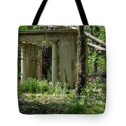 The Gazebo In The Woods Tote Bag