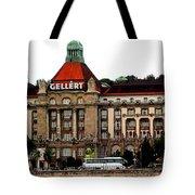 The Gellert Hotel Tote Bag