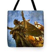 The Generals Golden  Angel Tote Bag