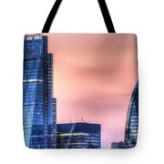 The Gherkin And The Cheesgrater London Tote Bag