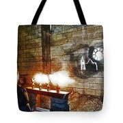 The Ghost Of Cathedral's Past Tote Bag