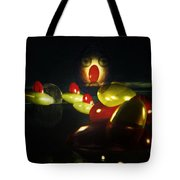 The Ghost Of The 3 Eyes Tote Bag