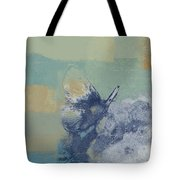The Giant Butterfly And The Moon - J216094206-c09a Tote Bag by Variance Collections
