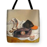 The Giant Sleeps Tonight Tote Bag by Ryan Williams