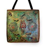 The Gift By Alfredo Garcia Art Tote Bag