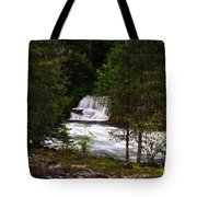 The Gift Of A Hidden Wterfall Tote Bag by Jeff Swan