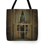 The Girl In The Window  Tote Bag