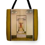 The Girl With Far Away Eyes Tote Bag