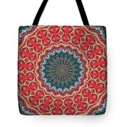 The Girl With Kaliedoscope Eyes Tote Bag