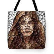 The Girl With No Face Tote Bag