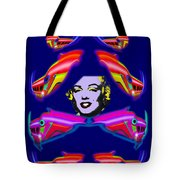 The Girl With The Dragon Moustache Tote Bag