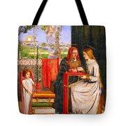 The Girlhood Of Mary Virgin Tote Bag