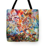 The Giving Of The Torah Tote Bag